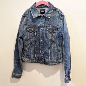 Gap girls denim jean jacket XL